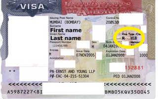 Порядок оформления рабочей визы в США