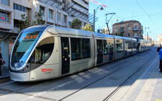 Как работает транспорт в Иерусалиме