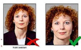 Подробно о требованиях к фото на визу