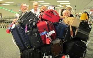 Какая стоимость перегруза багажа в самолете в 2020 году