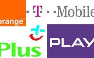 Мобильные операторы и сотовая связь на территории Польши