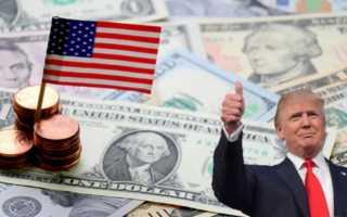Размер средней зарплаты в США