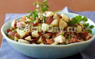 Как приготовить немецкий картофельный салат