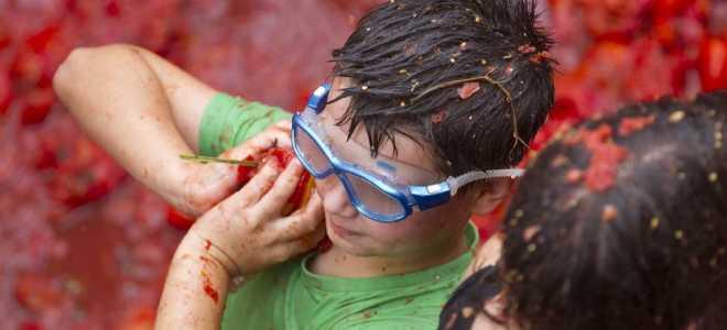Томатный фестиваль в Буньоле La Tomatina