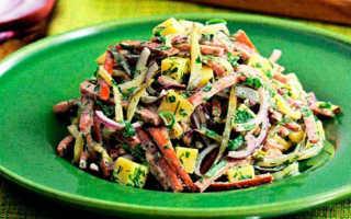 Мюнхенский салат – шедевр немецкой кухни