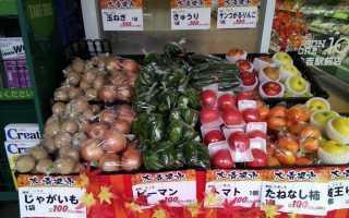 Цены в Японии на продукты питания, недвижимость и развлечения