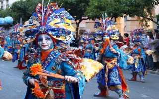 Карнавалы в Испании: история, особенности, время проведения