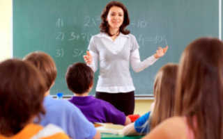 Особенности работы учителем в школе в России в 2020 году