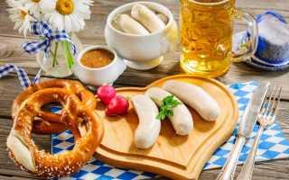 Баварская кухня: невозможно отказаться